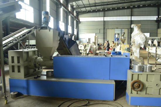LDPE HDPE PE PP ABS Plastic Pelletising Production Line/Machinery/Machine/Granulator/Granulating Machine