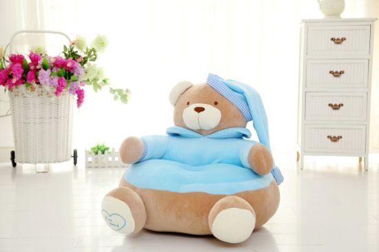 Teddy Bear Tatami Plush Sitting Sofa Chair For Kids