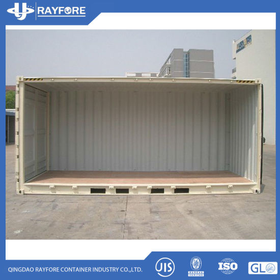 China Open Sided Shipping Container Open Top Containers