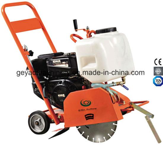 china manual push concrete cutter with honda gx160 engine gyc 120 rh geyaomachinery en made in china com Honda GX160 Motor Honda Small Engines
