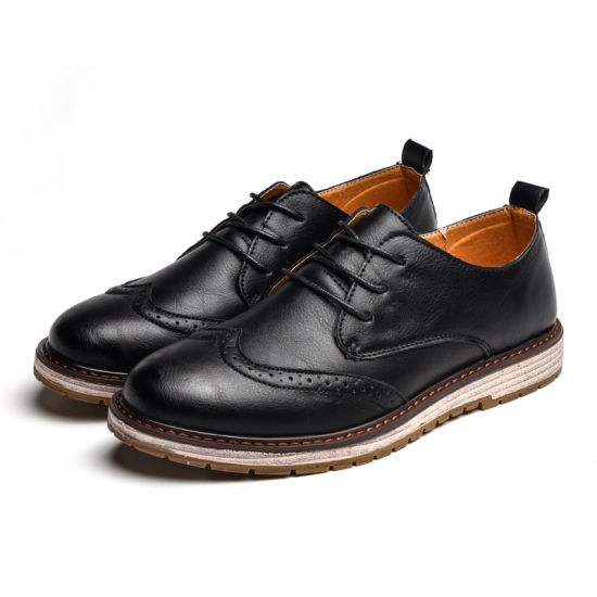 2018 New Leisure Fashion Spring New Men 's Shoes Wholesale British Martin Boots