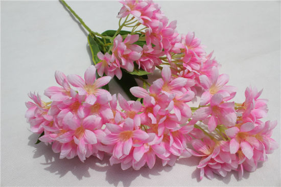 China wholesale pink plastic artificial flowers for home decoration wholesale pink plastic artificial flowers for home decoration mightylinksfo