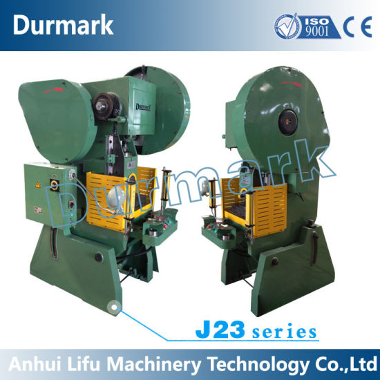 China J23 Open Back Inclinable Power Press With Eccentric Shaft