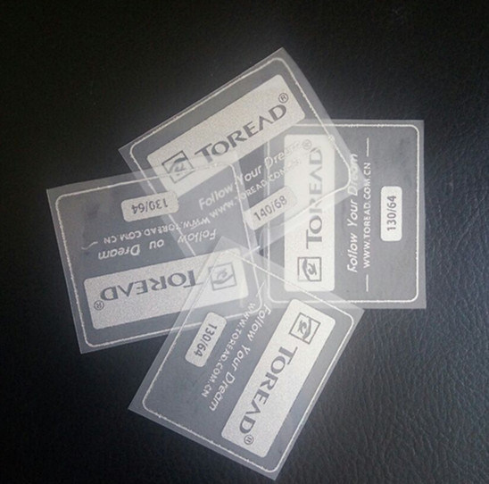 Tagless Heat Transfer Label for Sportswear and T-Shirt