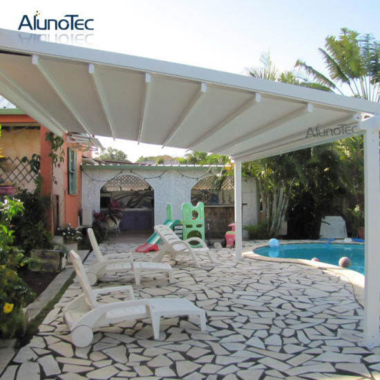 Retractable Awning Automatically Pergola Roof