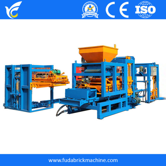 Qt4-15 Full Automatic with Hydraulic Fast and High Quality Block Making Machine