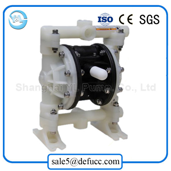China Wholesale High Quality Air Operated Chemical Diaphragm Pump pictures & photos