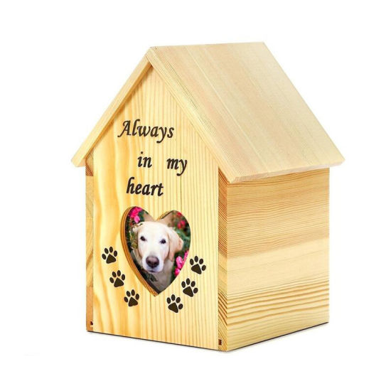Unique Design Custom Animal Coffin Wooden Funeral Products Urns pictures & photos