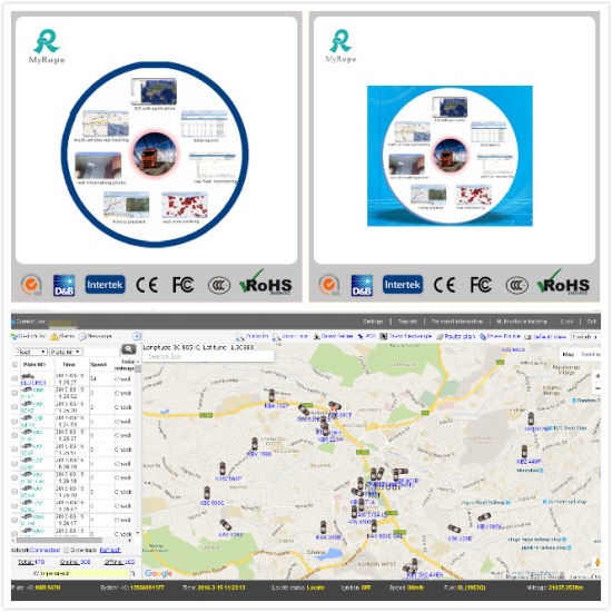 China Powerful Cloud Server Based GPS Bus Tracking System