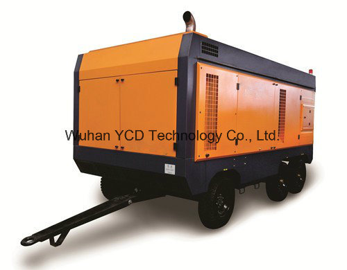 Diesel Driven Portable Screw Air Compressor (DSC460G) for Mining, Shipbuilding, Urban Construction, Energy, Military and Industries pictures & photos