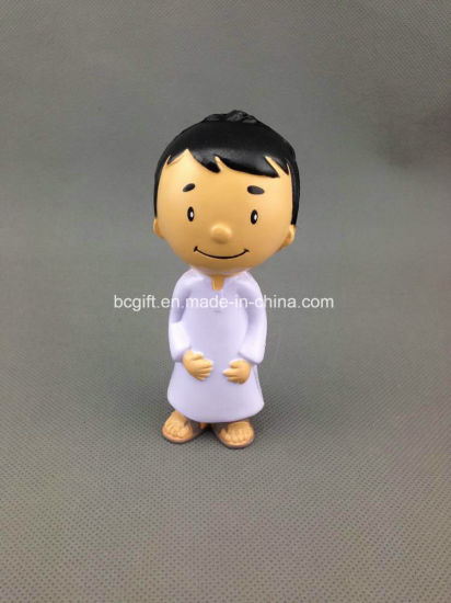 PU Foam Stress Toy Boy Design (with white gown)