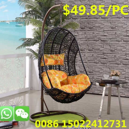 Stupendous 2019 Outdoor Round Relaxing Garden Egg Swing Swivel Leisure Chair Andrewgaddart Wooden Chair Designs For Living Room Andrewgaddartcom