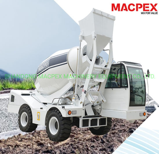 4X4 Mobile Self Loading Concrete Mixer 4.0/3.0/2.5/1.5 for Constriction Machine
