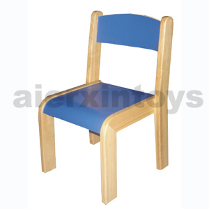 Wooden School Chair for Kids with The Certificate of The En 1729-1 and En 1729-2 (80594-80595)