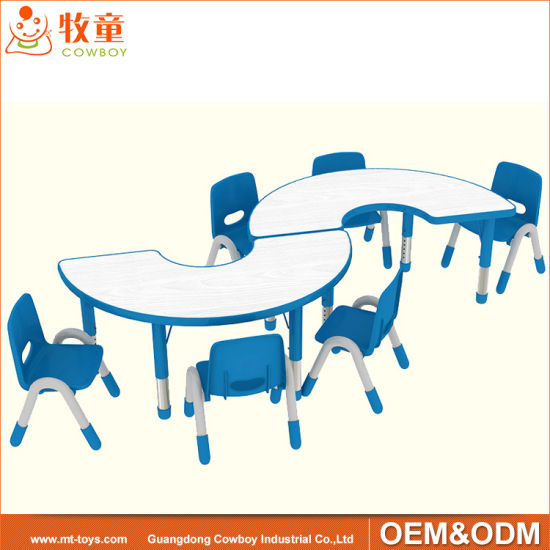 China Manufacture Preschool Classroom Wooden Furniture Suppliers