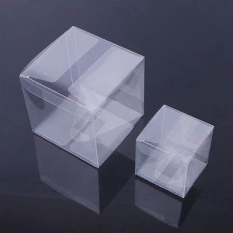 High Quality Custom Foldable Clear Gift Transparent PVC Box
