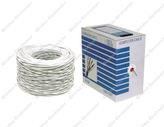 High Quality Professional Made Cat5e 100MHz Network Bulk Cable