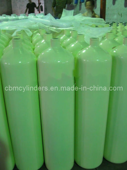 ISO9809-3 Standard Empty Gas Bottles12L for Industrial Gases