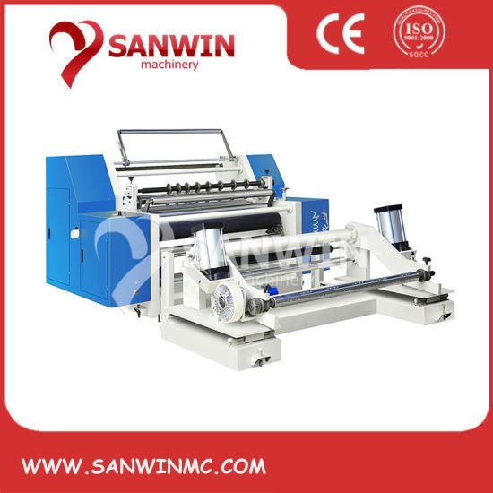 High Speed Jumbo Paper Roll Slitting Rewinding Machine
