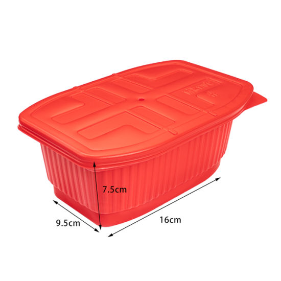 Factory Wholesale High Quality PP Plastic Microwavable Food Container