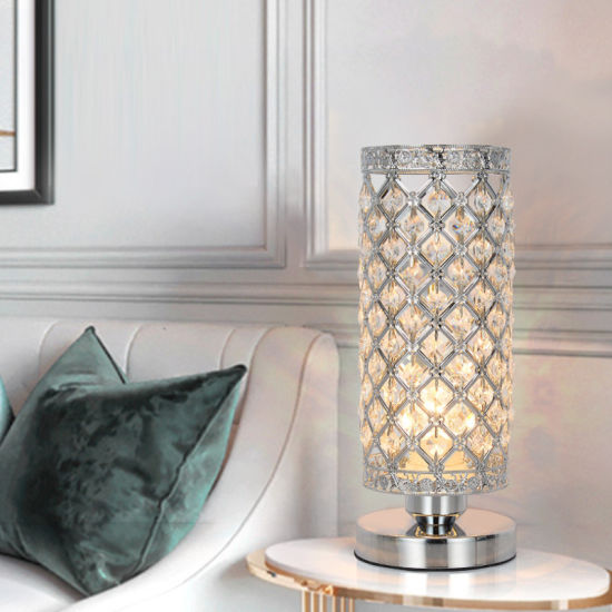 China Hot New Design Modern Crystal Hollow Table Lamp for Bedroom - China  Bulb, Lamp