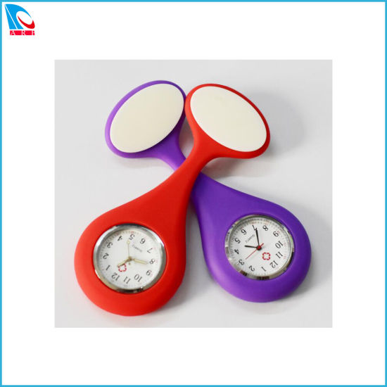 Promotion Gift for Silicone Fob Watch, Quartz Fashion Nurse Watches pictures & photos