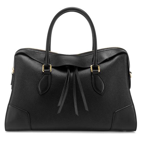 Lady Handbag Genuine Cow Leather Shoulder Hand Bag