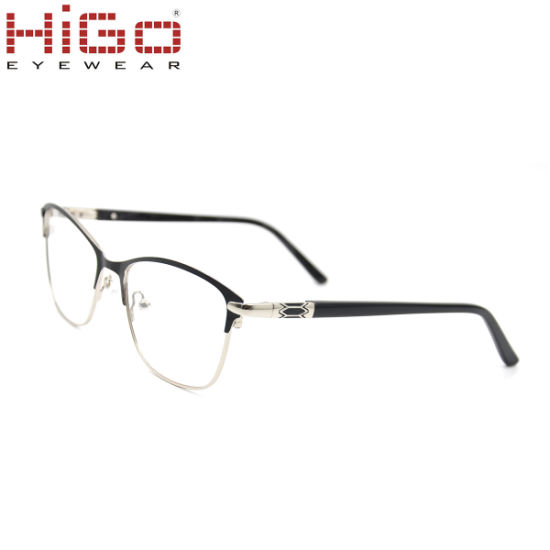 2018 New Arrivals Fashion Wholesale Stainless Steel Eyeglass Frame