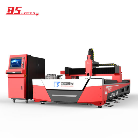 Reasonable Price 12mm Iron Fiber CNC Open Type Laser Cutting Machine with Optional Pipe Unit