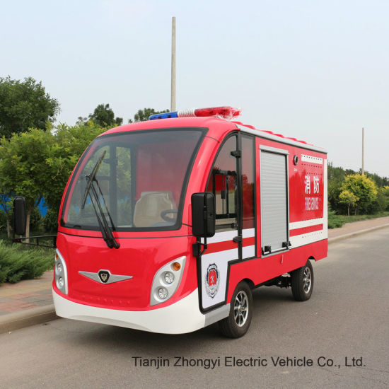 Zhongyi Mini Electric Fire Truck Car