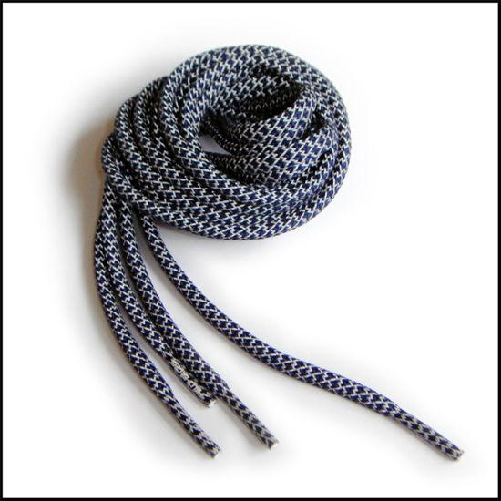 Wholesale Fashionable Custom Logo Sublimated Reflective Flat/Round Nylon/Polyester Sports Shoelace