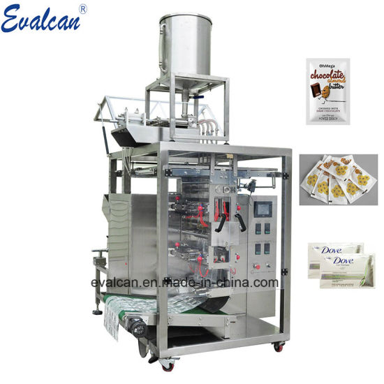 Automatic Moisture Cream Body Lotion Liquid Sachet Pouch Filling Packing Machine pictures & photos