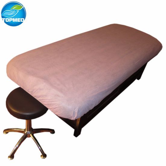 Disposable Waterproof Massage Bed Fitted Sheet Beauty Wax pictures & photos