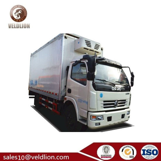 Freezing Truck Ice Cream Refrigerator Cooling Van 5t Refrigerated Truck pictures & photos