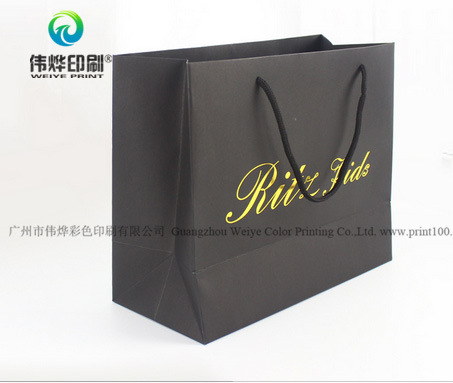 Printing Matt Shopping Paper Gift Bag with Logo UV
