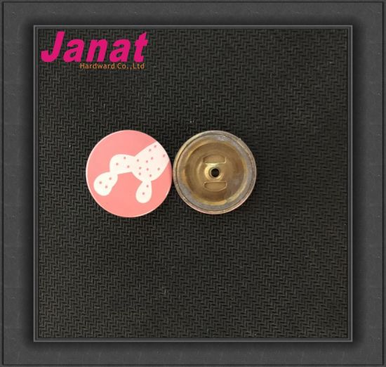 Printing Metal Jeans Snap Button