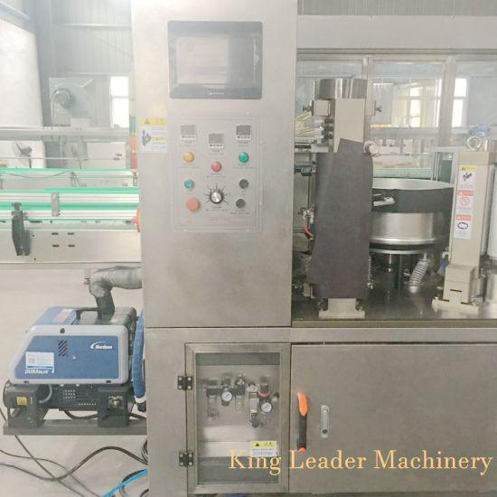 Linear Type OPP Hot Glue Labeling Sticking Machine