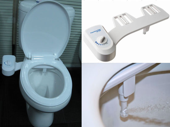 China Bidet Toilet Attachment 1 Function Single Nozzle Mechanical Bidet Non Electric Toilet Seat Bidet Economic Cb1300 With Self Cleaning Nozzle China Bathroom Product Water Pressure Control