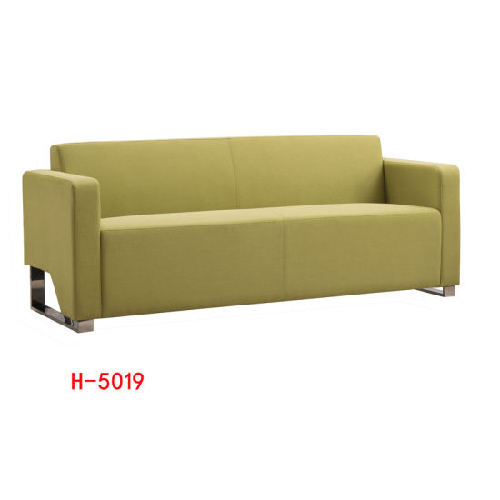 Wholesale Furniture Cheap Sectional Leather Office/Hotel Sofa Set