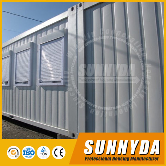 Insulation Flexbile Flat Pack Office Accommdation Container (SUO103)