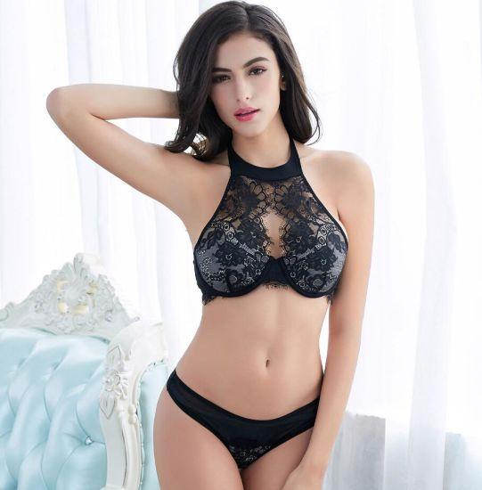 China Stylish Hot Fancy Bra Panty Set for Ladies - China T-Shirt Bra ... 5e1fcec13