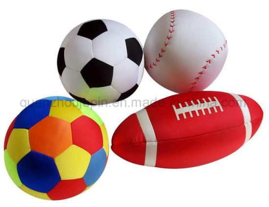 OEM Hot Sale Basketball Soccer Rugby Pillow Cushion
