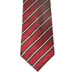 Men's High Quality Red Colour Woven Silk Necktie