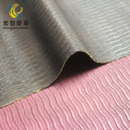 Semi PU Leather for Furniture/Sofa/Salon Decoration Usage
