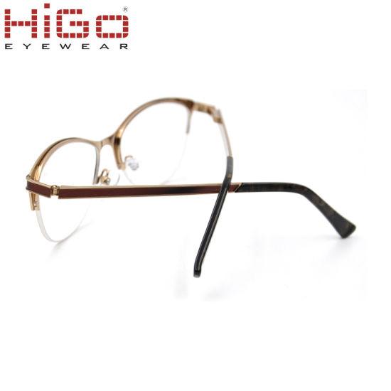 Wholesale Optical Manufacturing Factory Wenzhou Stock Metal Optical Eyeglasses Frame