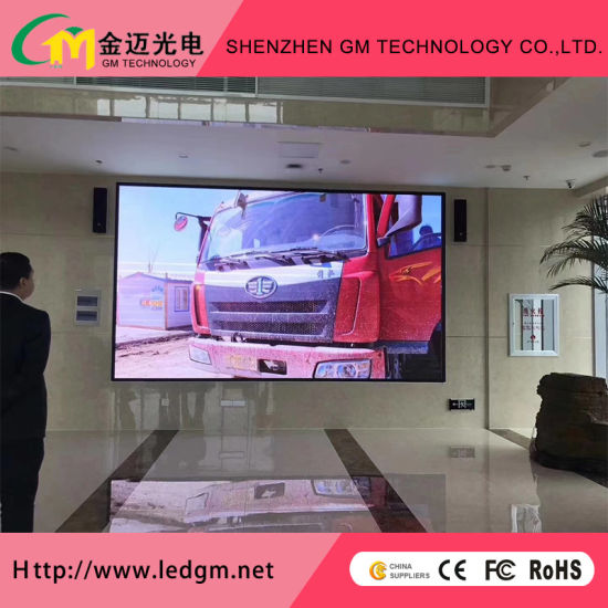 Highrefresh Indoor P4mm LED Video Wall with Fixed/Rental