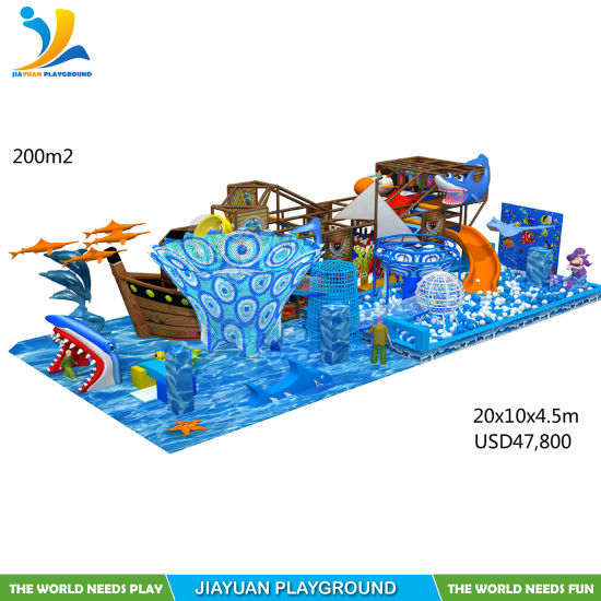 Fashion Soft Play Equipment and Indoor Playground for Kids by Jiayuan Playground