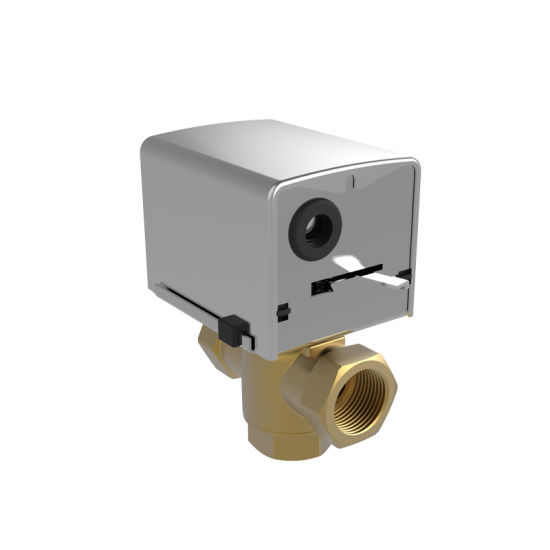 G3//4 Brass Electrical Ball Valve,AC220V Motorized Actuator Ball Valve,for Air Conditioning System and Plumbing Systems.