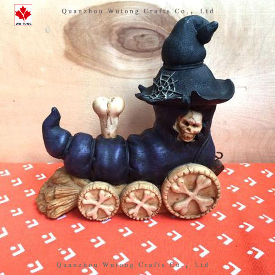 Custom OEM Factory Resin Halloween Decoration pictures & photos