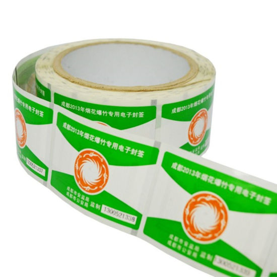 860-960MHz Passive Stickers Adhesive UHF RFID Label for Warehouse/Retailing pictures & photos